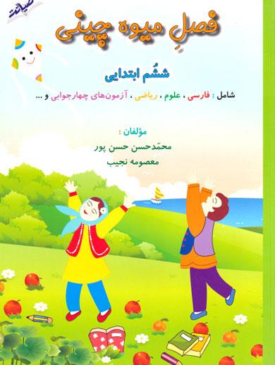 فصل میوهچینی (ششم ابتدایی)، معصومه نجیب، انتشارات صیانت، کتاب کار تابستان