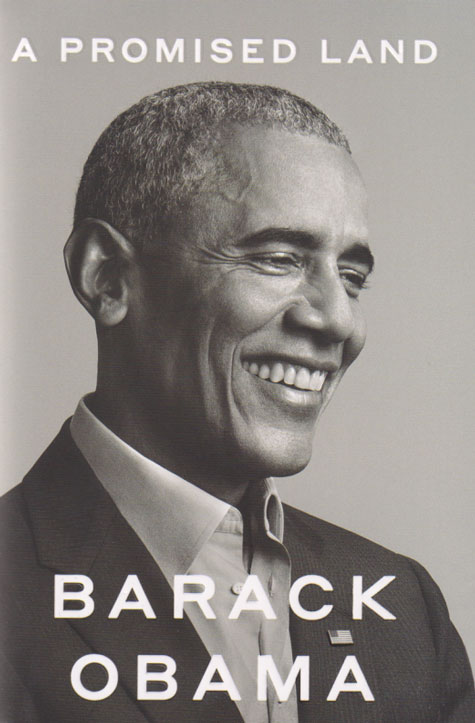 A PROMISED LAND (BARACK OBAMA)، سرزمین موعود، باراک اوباما، انتشارات CROWN، خاطرات ریاست جمهوری